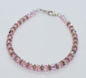 Roze armband Swarovski